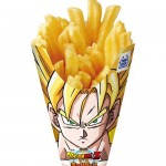 Le patatine Super Sayan di Dragon Ball