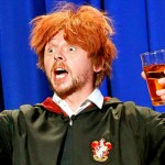 Ron fa gli auguri a Harry Potter per il suo compleanno