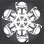 I fiocchi di neve a tema Star Wars