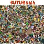 Tutti i personaggi di Futurama raccolti in un'immagine
