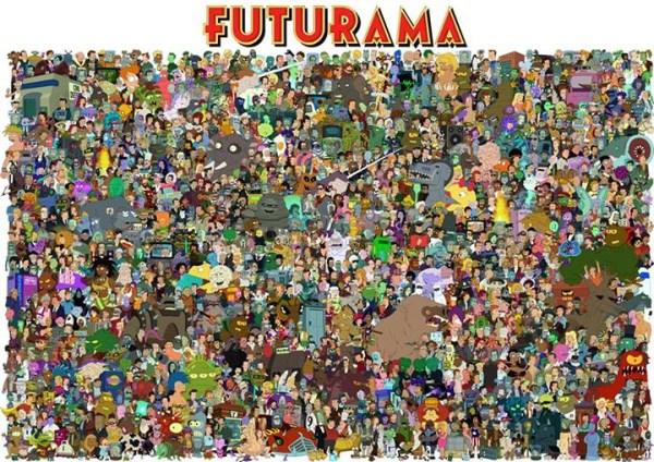 futurama-cast-completo1