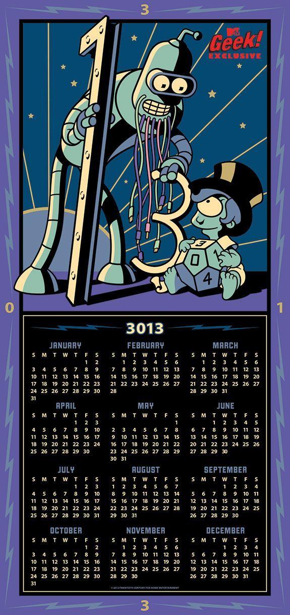futurama-comic-con-calendario