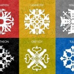 I fiocchi di neve di Game of Thrones