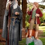 Gandalf e Bilbo di LEGO