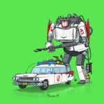 Il Mashup tra Ghostbusters  e Transformers