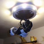 Il lampadario GlaDOS