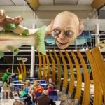 Un Gollum gigante vi da il benvenuto in Nuova Zelanda