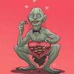 Gollum e San Valentino