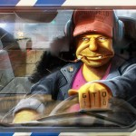 Grand Theft Otto, GTA incontra i Simpson