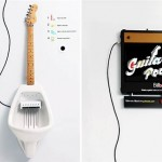 Guitar Pee, il WC musicale