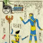 Hero-Glyphics, i fumetti trasformati in geroglifici