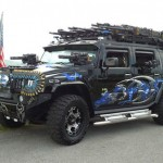 La Hummer anti-zombie