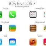 Le nuove icone di iOS 7