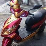 Lo scooter di Iron Man