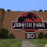 Jurassic Park ricreato con Minecraft