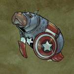 Il Super Lamantino della settimana – Capitan America
