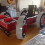 La macchina (funzionate) fatta di LEGO