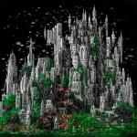 Un'epica costruzione fantascientifica fatta coi LEGO