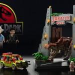 Il prototipo per LEGO Jurassic Park