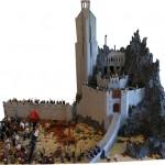 Il diorama LEGO del Fosso di Helm