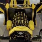 Una macchina fatta di LEGO funzionante