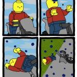 La pioggia nell'universo LEGO