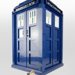 Una replica in scala 1:3 fatta di LEGO di un TARDIS
