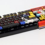 La tastiera di LEGO funzionante