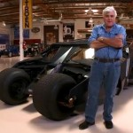 Jay Leno e il Tumbler di Batman