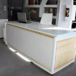 La scrivania convertibile in un letto