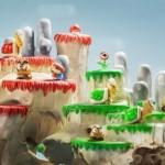 Dei teschi trasformati in dei livelli di Super Mario
