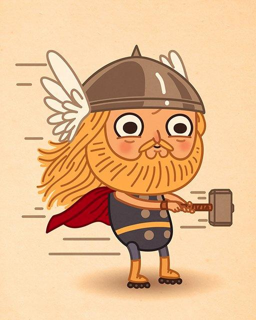 marvel-cute-thor