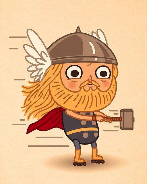 marvel-cute-thor