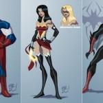 La fusione tra i personaggi Marvel e quelli DC