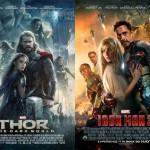 La fantasia delle locandine Marvel