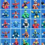 Tutti i robot di Mega Man rifatti con l'argilla