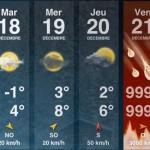 Le previsioni meteo della settimana (l'ultima?)