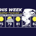 Il meteo della settimana – Si prevedono Sharknado!