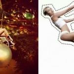 Le palle di Natale con Miley Cyrus