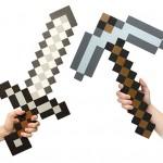 Il Piccone e la Spada di Minecraft