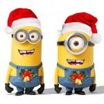 I Minions festeggiano il Natale