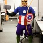 La mega fusione degli Avengers in un solo cosplay
