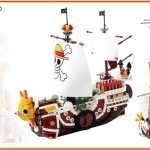 Thousand Sunny di One Piece rifatta coi LEGO