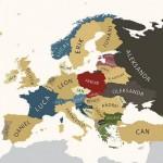 I nomi più comuni in Europa