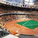 Lo stadio olimpico di Londra 2012 rifatto con i LEGO