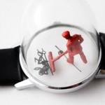 Gli orologi con delle miniature nei quadranti