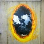 Il murales di Portal