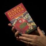 L'asta del libro di Harry Potter si chiude a 176.000 Euro