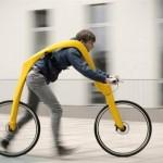 La bici da passeggio