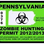 Permesso di caccia per gli Zombie
